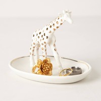 Giraffe Trinket Dish by Anthropologie White Trnkt Dish Bath