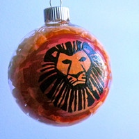 The Lion King inspired Christmas Ornament by ClarityArtwork