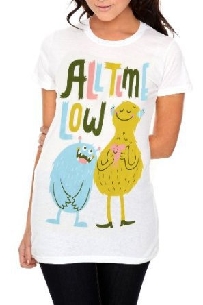 All Time Low Monsters Girls T-Shirt