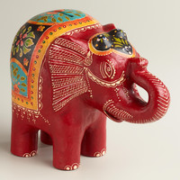 Red Terracotta Elephant Bank