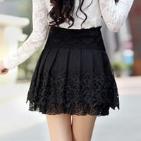 Pleated lace dress  BABHCE