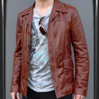 Fight Club Jacket - Replica-Leather Jackets by Soul Revolver