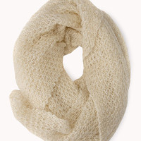 Dreamy Open-Knit Infinity Scarf