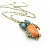 Fashion Vintage Style Owl Necklace