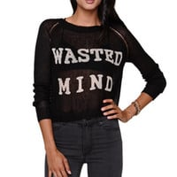 Nameless Wasted Again Sweater at PacSun.com