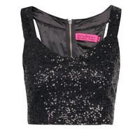 Millie All Over Sequin Bralet