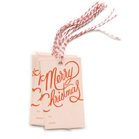 Rifle Paper Co. - Merry Christmas Gift Tags