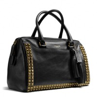 Coach :: LEGACY HALEY SATCHEL IN STUDDED LEATHER