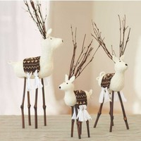 Felt Deer (set of 3) - VivaTerra