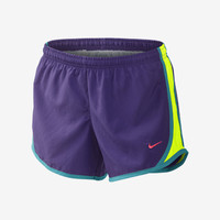 "The Nike 3.5"" Tempo Girls' Running Shorts."