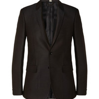 Burberry London Slim-Fit Jacquard-Woven Suit Jacket | MR PORTER