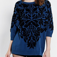 Glamorous Art Deco Oversized Sweater  - Urban Outfitters