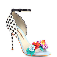 Sophia Webster - Lilico Leather Flower Sandals