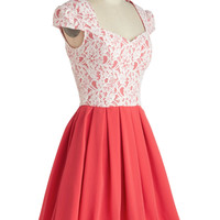 Loganberry Beautiful Dress in Pink | Mod Retro Vintage Dresses | ModCloth.com