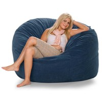 Bean Bag Chairs: Jaxx Metro Bean Bag Chair in Microsuede. Buy Now!