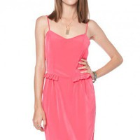 Adelaide Dress in Pink - ShopSosie.com