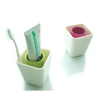 Simple Toothbrush Holder, Pink