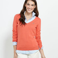 Women's Sweater Shop: Lighthouse V-Neck Sweater for Women - Vineyard Vines
