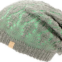 Empyre Girls Noble Mint & Grey Reversible Lace Beanie at Zumiez : PDP