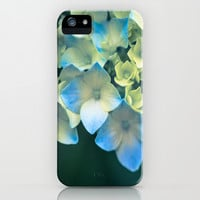 Peek -A- Blue iPhone & iPod Case by Ann B.