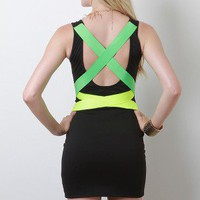 Neon Boulevard Dress