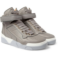 GivenchyLeather High Top Sneakers|MR PORTER