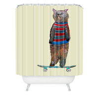 DENY Designs Home Accessories | Brian Buckley Roll With It Shower Curtain