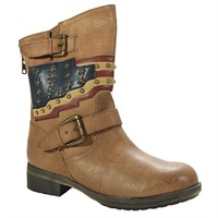 Mia Soldier Americana Biker Boot at Von Maur