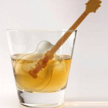 FRED COOL JAZZ Guitar Ice Tray and Stirrers