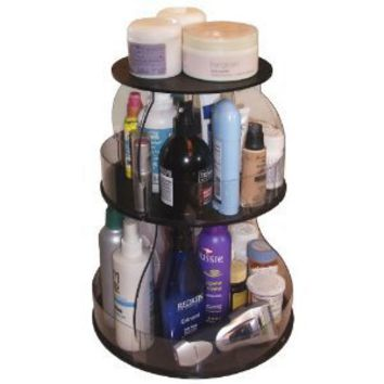 "Makeup & Cosmetic Organizer That Spins for Easy Access to all your Beauty Essentials, NO More Clutter!Save Space, Only 12"" needed on Your Counter. ...Proudly Made in the USA! by PPM."