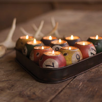 billiard candles | pool ball candles | At West End