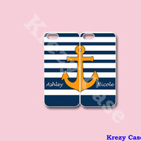 Anchor Best Friends iPhone 5 case,iPhone 5s case, iphone case,  iPhone case, iPhone 5c Case, Cute iPhone 5c Case