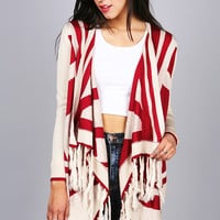 Tribal Tag Cardigan - Knit Cardigans at Pinkice.com