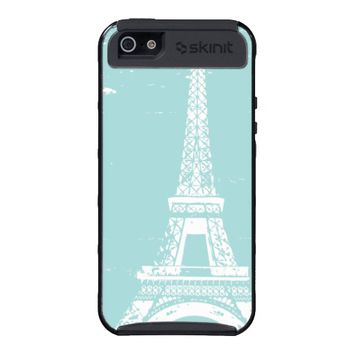 Blue Eiffel Tower iPhone 5 Skinit Case Covers For iPhone 5