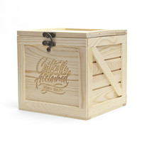 Critically Acclaimed  — Shipping Crate Gift Box