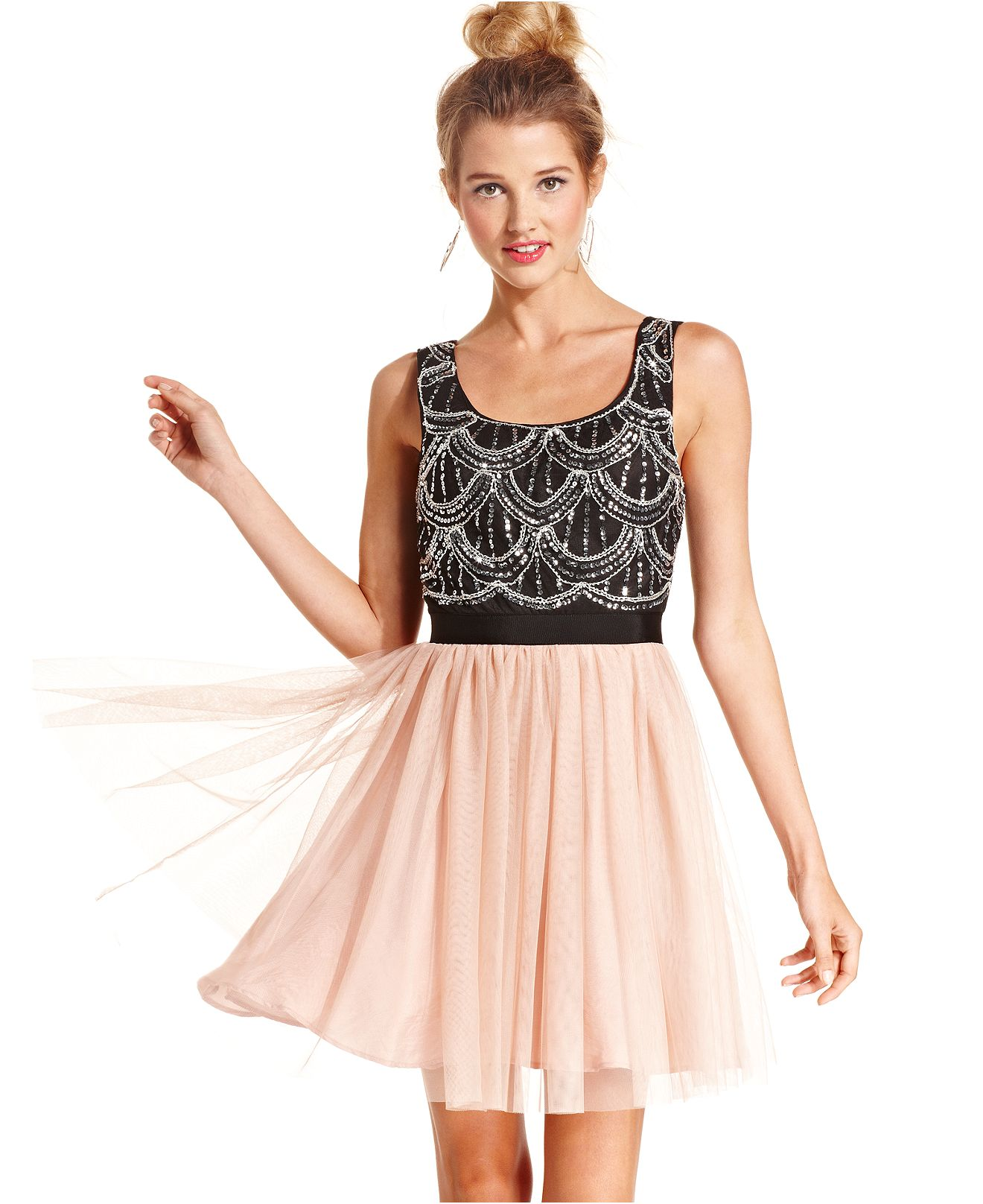 semi formal dresses for juniors macys