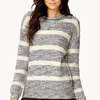 Fireside Heathered Stripe Sweater