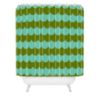 DENY Designs Home Accessories | Holli Zollinger Waves Of Color Shower Curtain