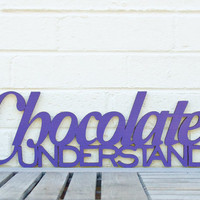 Chocolate Understands by spunkyfluff on Etsy
