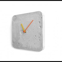 INFMETRY:: Square Concrete Wall Clock - Home&Decor