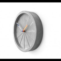 INFMETRY:: Circular Shape Concrete Wall Clock - Home&Decor