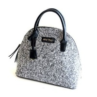 Simple Shell Gray Handbag Shoulder Bag