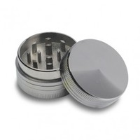 Small Aluminum Herb Grinder 40mm - 2-part - Herb Grinders - Smoking Accessories - Grasscity.com