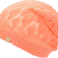 Empyre Girls Noble Vanilla & Coral Reversible Lace Beanie at Zumiez : PDP