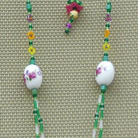 Tropical Faery House Jewelry Set from Trinket's Treasures