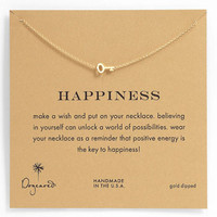 Dogeared 'Whispers - Happiness' Boxed Pendant Necklace | Nordstrom