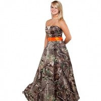 Realtree ® Camo Bridal Gowns | Camo long Dresses | Free Shipping