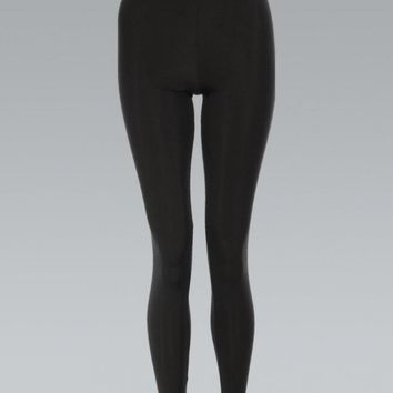 Black High Waisted Disco Pants