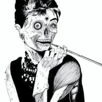 Zombie at Tiffany&#x27;s Art Print - Artist Shoppe