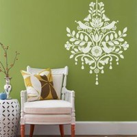 Vinyl Wall Sticker Decal New Style Chandelier With by NouWall